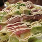 7333613 - 炙りマグロと生ハムアボガドのサラダ(700円) 11.01.16.