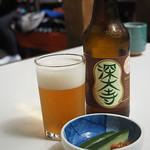 そばごちそう門前 - 深大寺ビール