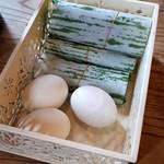 味丸 県体前中華そば - 早寿司、ゆで玉子