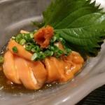 すし魚菜 かつまさ - ホヤ酢。