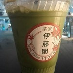 茶寮 伊藤園 - 抹茶ラテ¥400