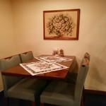 ミンスクの台所 - 可愛らしい内装 あっ、この画像では伝わらないか