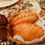 ミンスクの台所 - 焼きピロシキ
