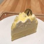 73332979 - チーズケーキというよりはシフォンケーキかな