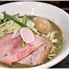 中華そば いづる - 料理写真:味玉濃密煮干しそば 880円 ぎゅぎゅっと凝縮された煮干味!お好きな人にはたまらん仕上がりです♪