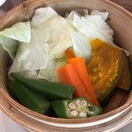 一滴 - 料理写真:蒸し野菜