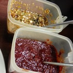 長浜 玄風館 - 甘タレに辛タレ! 両方混ぜて、ねぎだくで頂きます