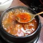 長浜 玄風館 - テールスープ