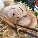 中華そば まるき - 港町の煮干そば あぶり豚のせ1,100円