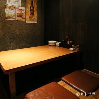 肩肘張らずに北海道の酒肴を堪能。大切な人との距離が近づくかも