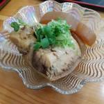 みなと市場 小松鮪専門店 - 「まぐろの煮付け」