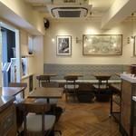 メゾン・ランドゥメンヌ - 店内カフェ