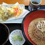Sobahachi - 舞茸天ぷら蕎麦1,180円