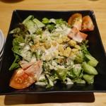 とりとり亭 - 2017.09 シーザーサラダ(450円)