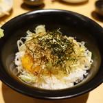 とりとり亭 - 2017.09 卵かけごはん(400円)