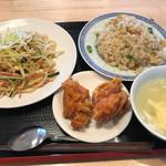 中華料理 福禄 - 冷麺定食=800円