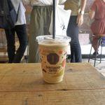 猿田彦珈琲 - 注文してから3分ほどで「猿田彦のコーヒーフラッペ トールサイズ」が完成!