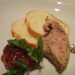 7334932 - イベリコ豚のパテ&自家製トマトジャム♪