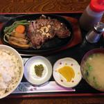 かつ亭 - ステーキ定食(150g)