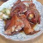 角上魚類 - 金目鯛の煮付け♪