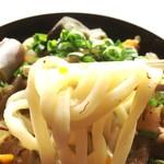 谷川製麺所 - 口当たり柔くも、しっかりとコシのある美味い麺♬