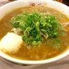 ミスター パピー - 料理写真:「ビーフカレーラーメン」(700円)。クーポンで温泉卵を追加。