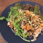 和sian-cafe aimaki - コース料理から、カオクルックネーム