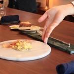 73345006 - とうもろこし&ジロル茸のチーズリゾットとうもろこし&ジロル茸のチーズリゾット