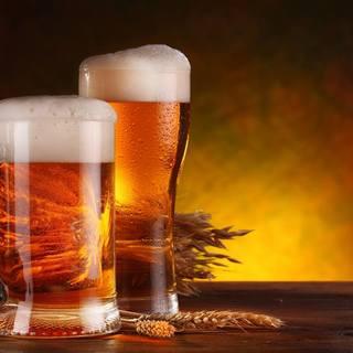 国内4社の生ビールを飲み比べ!豊富なドリンクメニュー