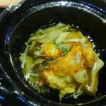 豆助 - 鶏野菜あんかけ