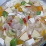シンガポール・シーフード・リパブリック - 杏仁豆腐