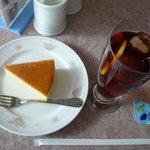 スカイレストラン - ケーキセット