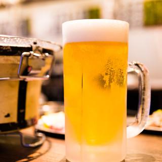 【単品飲み放題120分1580円】ビールも日本酒も飲み放題!