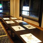 博多中洲 六三亭 - 2階座敷