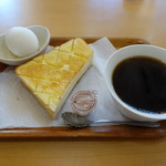喫茶AYU - 料理写真:2017.09 ドリンク代のみのモーニングサービス