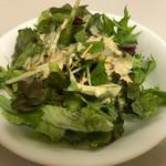 レストランけやき - セットのサラダ