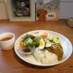 カフェ ノルン - 料理写真:キーマカレードリンクセット(1,200円)