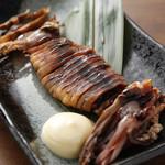 寿司酒場 スシイチ - 【酒のアテ】イカの丸干し