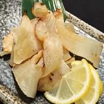寿司酒場 スシイチ - 【酒のアテ】炙りエイヒレ