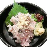 寿司酒場 スシイチ - 【酒のアテ】鮮魚のなめろう