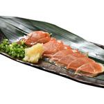 寿司酒場 スシイチ - 【酒のアテ】イカ肝の燻製