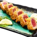 寿司酒場 スシイチ - 【揚げ物】まぐろのレアカツ