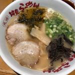 筑豊ラーメン山小屋 - 山小屋ラーメン780円