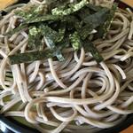 小野田そば屋 - 料理写真:麺が幅広い!!