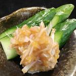 寿司酒場 スシイチ - 【おつまみ】梅水晶
