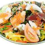 寿司酒場 スシイチ - 【サラダ】海鮮サラダ