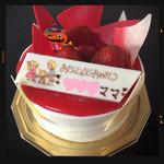 ラ・ベルージュ - 料理写真:バースデーチーズケーキ