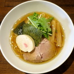 麺や ハレル家 - 芳醇煮干し醤油_500円