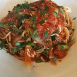 RISTORANTINO pinoli - シラスとアンチョビのトマトソース オレガノの香り