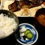 食彩 かどた - ランチ『銀むつ漬け焼き』¥1510-